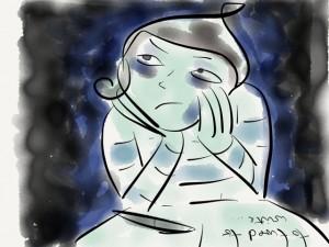 """""""Depressives Blaues Ich"""" – Nathalie Bromberger"""