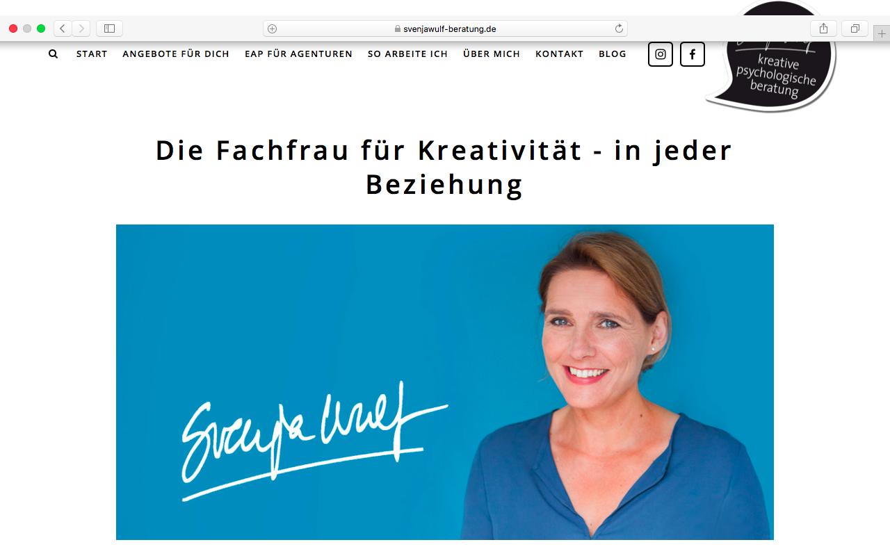 Ulrike Zecher stemmt gemeinsam mit dir das große Projekt Webseite.